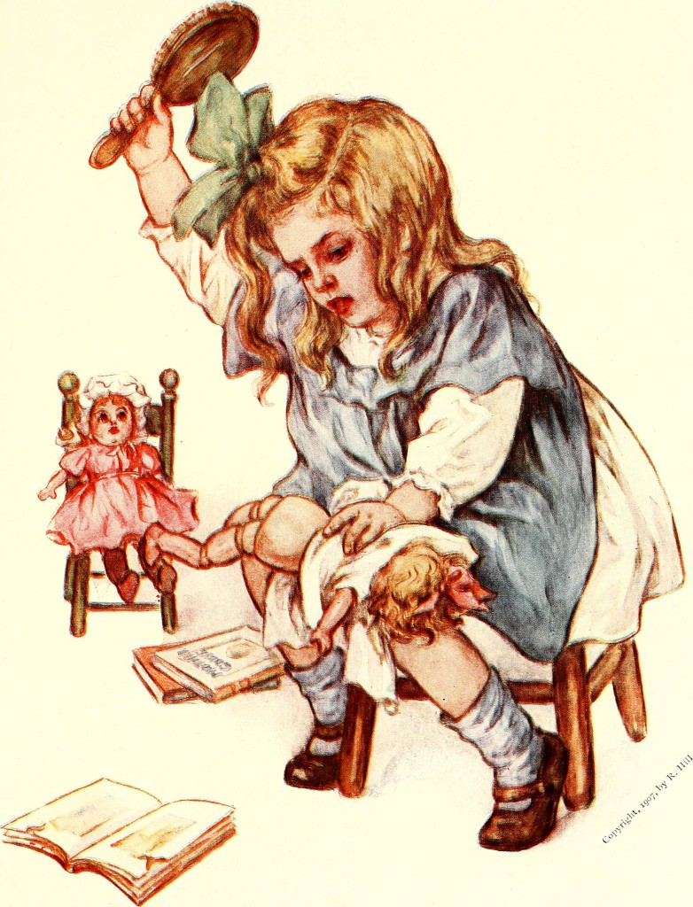 Illustration from the diary of a birthday doll - WimimediaCommons